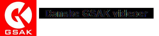 Danske GSAK videoer
